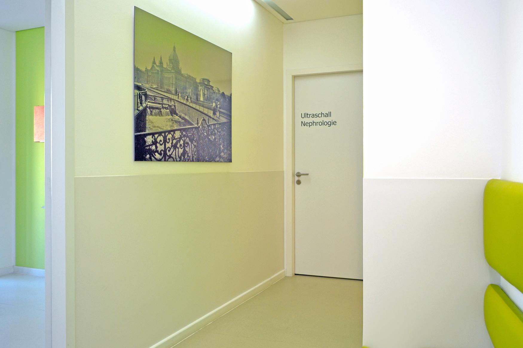 Wandschutz Praxislflur Warten